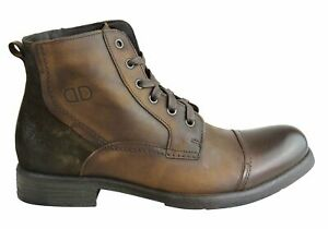 NEW-DEMOCRATA-AXEL-MENS-LEATHER-FASHION-LACE-UP-DRESS-BOOTS-MADE-IN-BRAZIL
