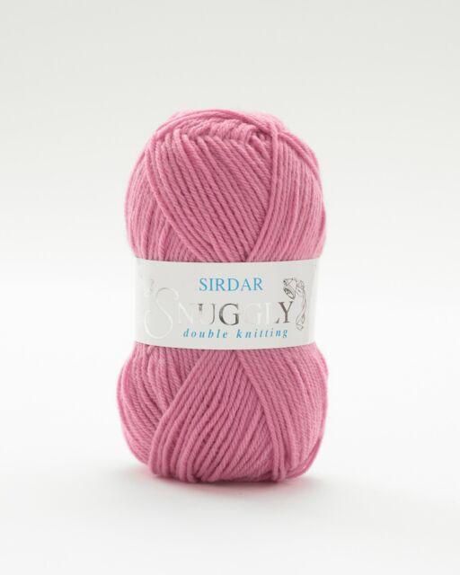50g ***ALL COLOURS*** Sirdar Snuggly DK Double Knitting Wool//Yarn