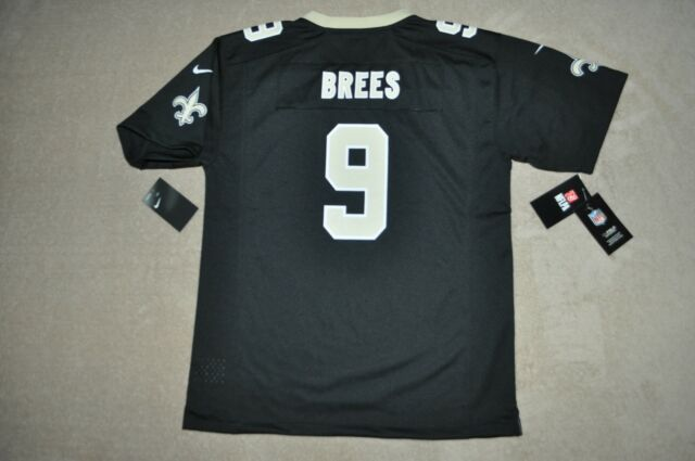 low priced 8c07b 255b1 Drew Brees New Orleans Saints Nike Youth Jersey XLarge 18/20 Black NWT