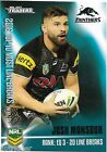 2017 NRL Traders Pieces of the Puzzle (PP 47/54) Josh MANSOUR Panthers