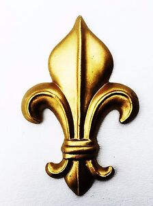 Antique Hardware Vintage French Provincial Fleur de Lis Metal wall decor design