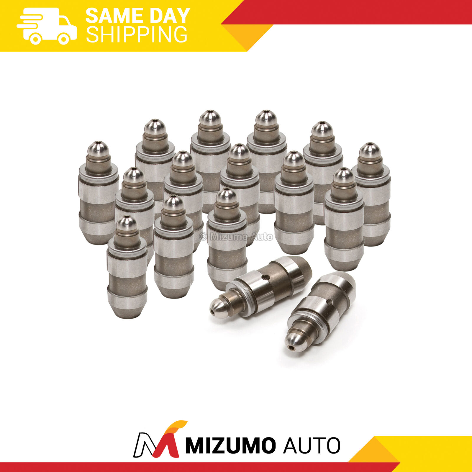 FreieFahrt 16X Hydraulic Valve Lifter for 1991-1996 1999-2002 for Infiniti G20 1991-1993 for Nissan NX 1995-1998 for Nissan 200SX 1995-1998 for Nissan 200SX Lash Adjusters LF3028