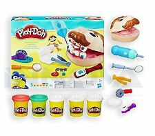 PLAY-DOH Young Kids Doctor Dentist Drill 'n Fill Family Fun Toy Play Set 3+