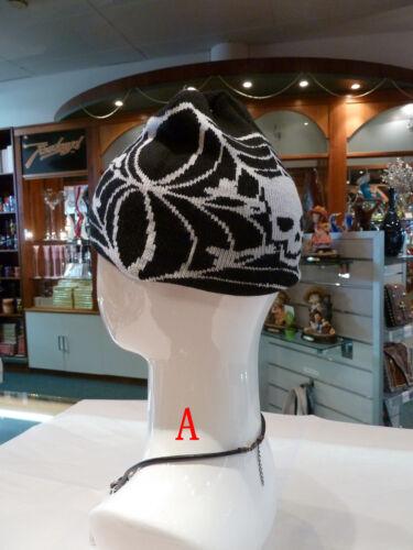 NWT Biker//Skull//Cross//Gothic mens beanies//skull cap 3xvarieties//styles CAP HAT