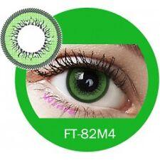 Lentille de couleur vert 2 tons FT82M4 -  green color contact lenses