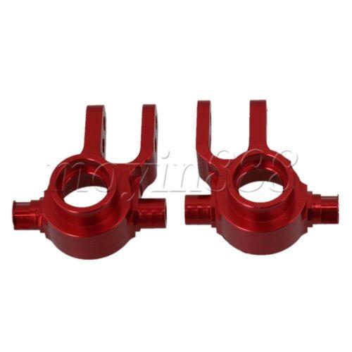 SLA002 Red Color Aluminum Steering Mount Hub Carrier for TRAXXAS SLASH4X4/&HQ727