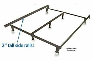 Details About Knickerbocker Monster Metal Bed Frame New Heavy Duty Fits All Bed Sizes