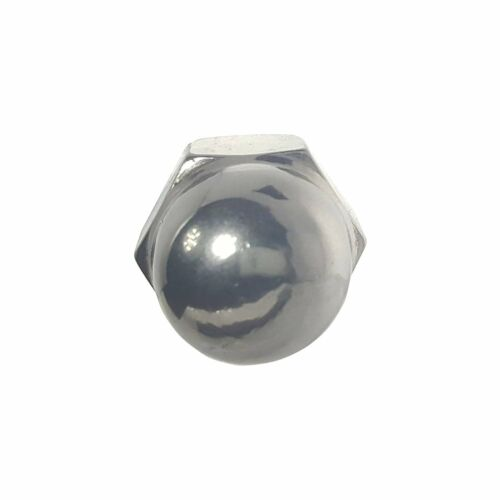 10-24 Acorn Cap Nuts Stainless Steel 18-8 Standard Height Quantity 10
