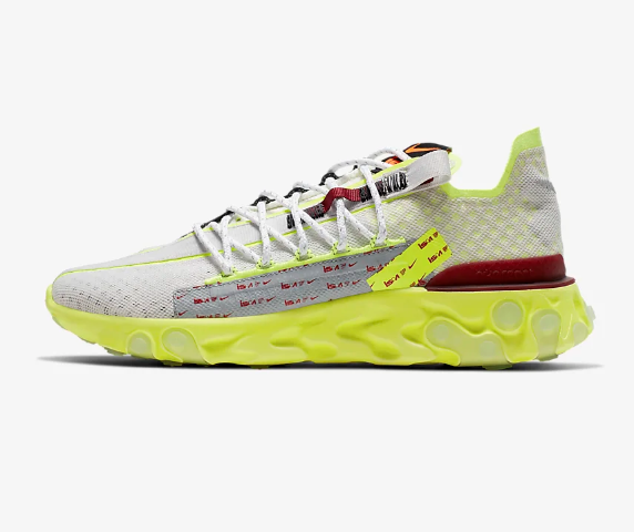 Size 7 - Nike React WR ISPA Platinum Volt 2019 for sale online | eBay