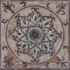 Handmade Handcut Inlay Art Stone Natural Marble Mural Marble Mosaic GEO1205