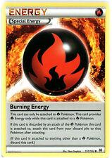 x4 Burning Energy - 151/162 - Uncommon Pokemon XY Breakthrough M/NM English