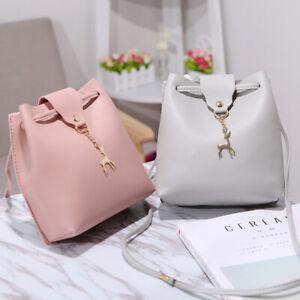 Fashion-Women-Lady-School-PU-Leather-Girls-Backpack-Travel-Handbag-Shoulder-Bag