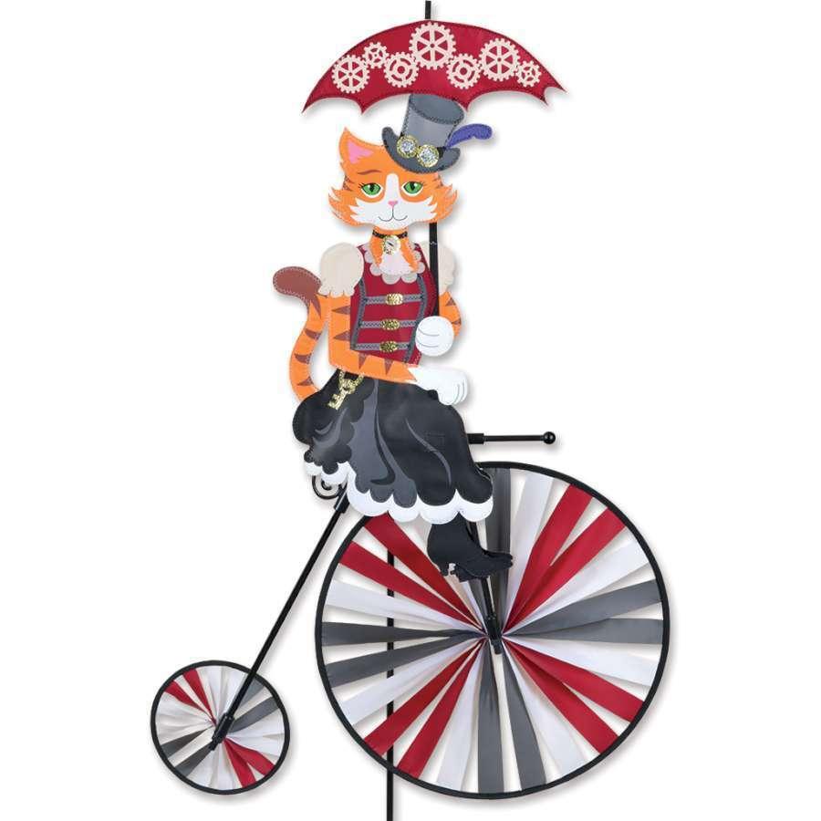 37 in (approx. 93.98 cm) bicicleta de rueda de alta Spinner-Steampunk resistente a la deColoración Suntex Tela 26528