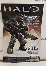Halo Mega Bloks Set #DPW95 UNSC Red Spartan Warrior w// Incinerator Cannon Figure