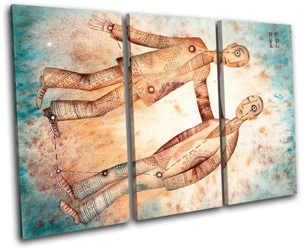 Gemini Starsign Zodiac Astrology Horoscope Canvas Canvas Canvas Art Picture Print Decorative 6463bc