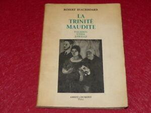 ARTS-Robert-BEACHBOARD-LA-TRINITE-MAUDITE-VALADON-UTTER-UTRILLO-Rare-1952