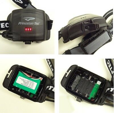 PRINCETON TEC REMIX RECHARGEABLE 200LM HEAD LAMP USB RECHARGE /& AAA BATTERIES