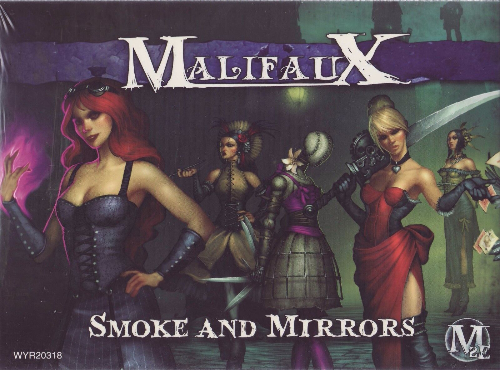MALIFAUX Smoke and Mirrors WYR20318 nouveau FACTORY SEALED  M2E  au prix le plus bas