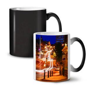 Night Life Photo City NEW Colour Changing Tea Coffee Mug 11 oz   Wellcoda