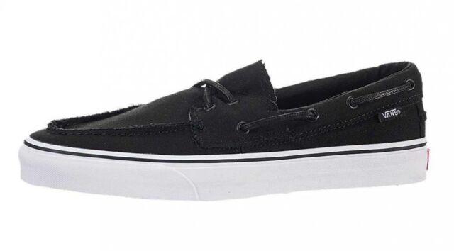 Zapatos Del Barco Furgonetas Blanco Y Negro nB3dReO