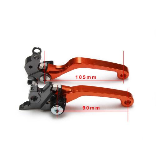 Billet Pivot Foldable Brake Clutch Levers For KTM SX SXF EXC XC XCW XCF SXR EXCR