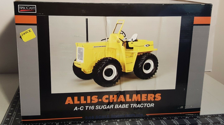 Allis Chalmers T16 azúcar Babe  Resina Tractor de Granja réplica por Speccast