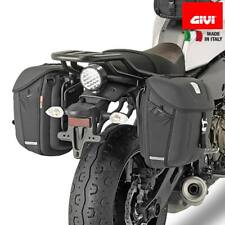 SR2126 YAMAHA XSR 700 2016  2017 MONOLOCK MOTO SCOOTER BAULETTO BAULE VALIGIA POSTERIORE GIVI CATADRIOTTI NERI 30LT E300NT2