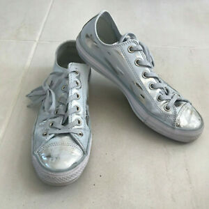 Converse All Star Women Sz 9.5 Leather