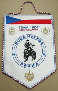1980-s-FIM-Six-Days-ENDURO-Motorcycle-TEAM-PENNANT-ISDE-Czechoslovakia-ISDT