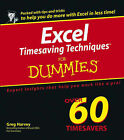 Excel Timesaving Techniques For Dummies by Greg Harvey (Paperback, 2004)