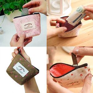 Lady-Small-Canvas-Purse-Zip-Wallet-Coin-Key-Holder-Case-Bag-Handbag-Convenient
