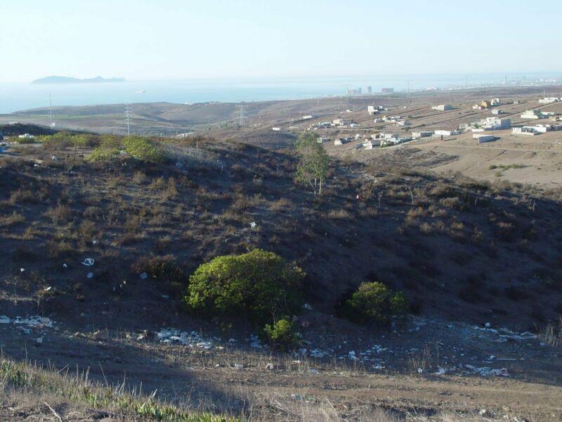 Terrenos a la venta Popotla Rosarito con 60 mensualidades sin interes y vista al mar