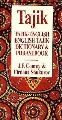 Tajik-English / English-Tajik Dictionary & Phrasebook by Joseph F. Conroy,...