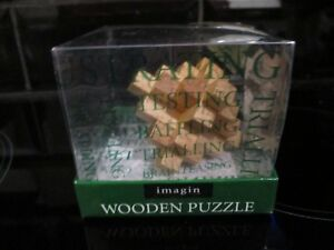 IMAGIN WOODEN PUZZLE FOR SALE