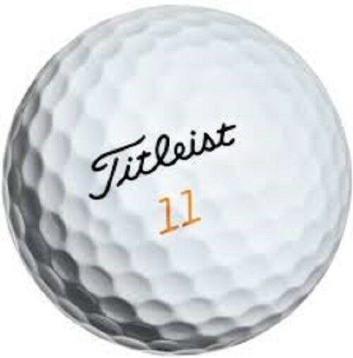 50 Titleist Velocity Used Golf Balls AAA+ 3(A) Good Quality