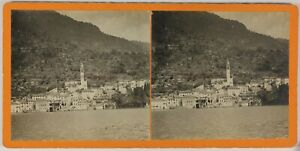 Lac A Identificare Italia Suisse Foto Stereo L9n8 Vintage Analogica