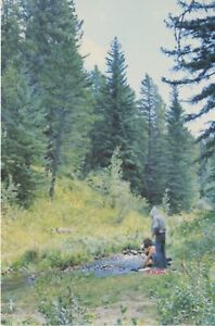 Cypress-Hills-Provincial-Park-SK-Sask-Saskatchewan-Dept-Of-Tourism-Postcard-D9