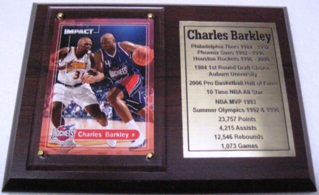 f5003c9c8 CHARLES BARKLEY 8x10 Awesome NBA Action Photo HOUSTON ROCKETS #4 HOF ...