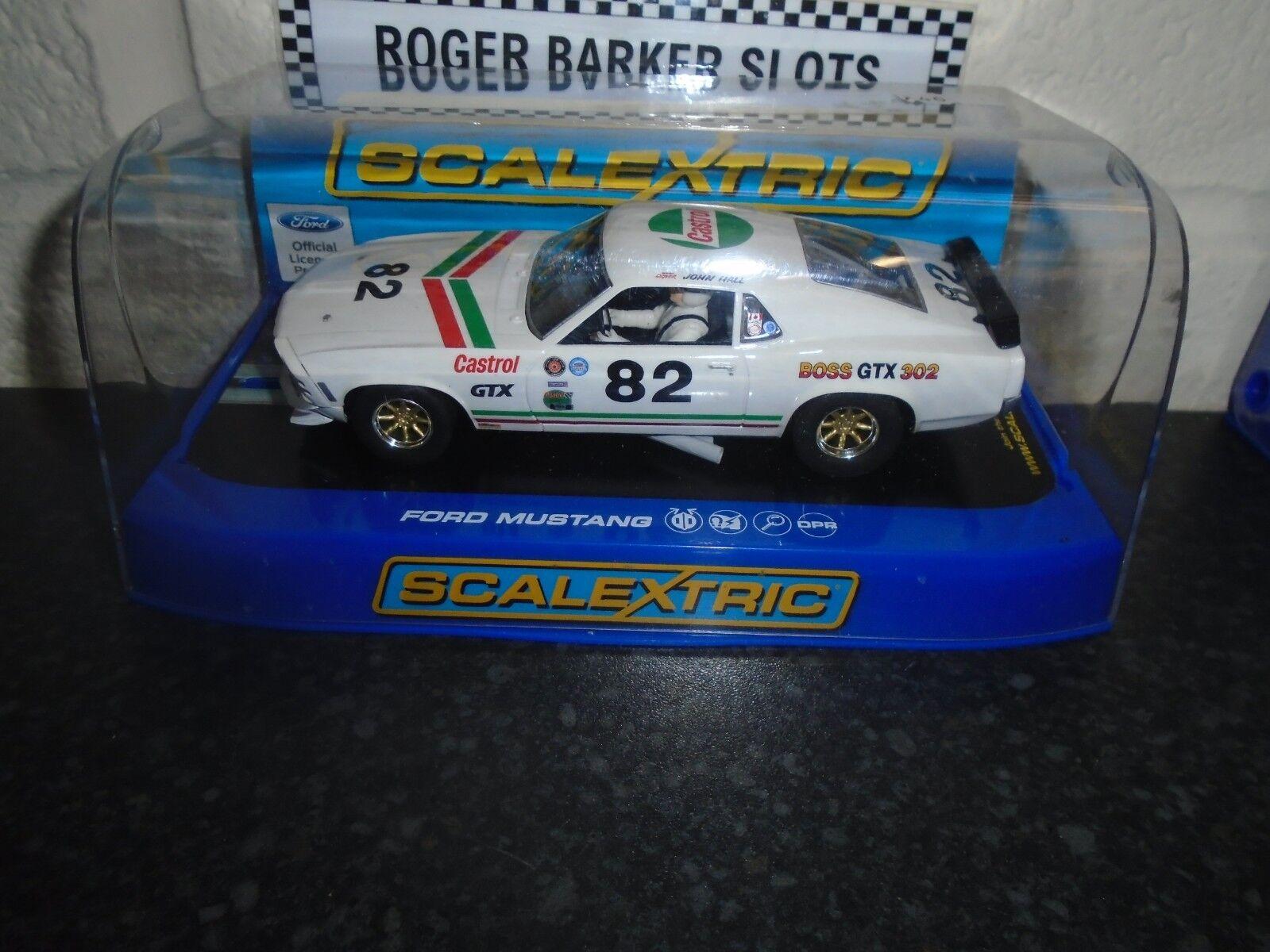 Scalextric C3538 Ford Mustang 1969 Boss 302 GTX DPR BNIB
