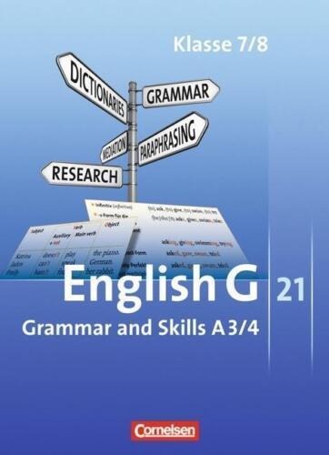 1 von 1 - English G 21 - Ausgabe A: Band 3/4: 7./8. Schuljahr - Gram... | Buch |NEU
