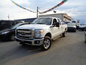 2012 Ford F 250 4WD Crew Cab