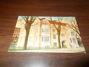 1910-era Oliver Memorial Hall, Yale University, New Haven Vintage Postcard
