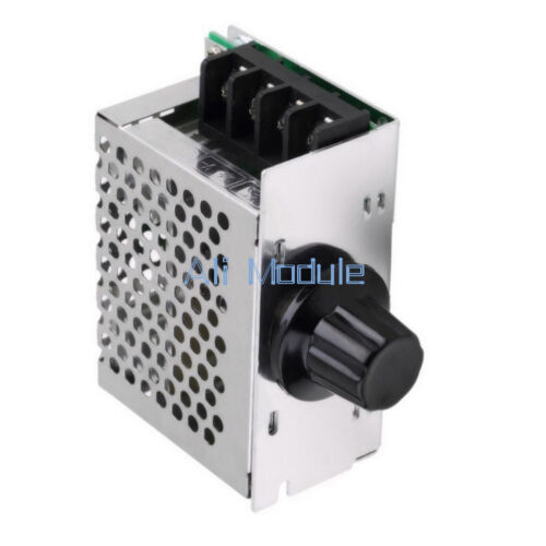 4000W 220V AC SCR Voltage Regulator Dimmer Motor Speed Controller Module AM