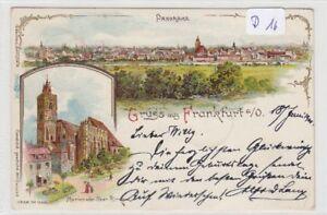 872-Frankfurt-Oder-Mehrbild-Panorama-Litho-gelaufen-1900