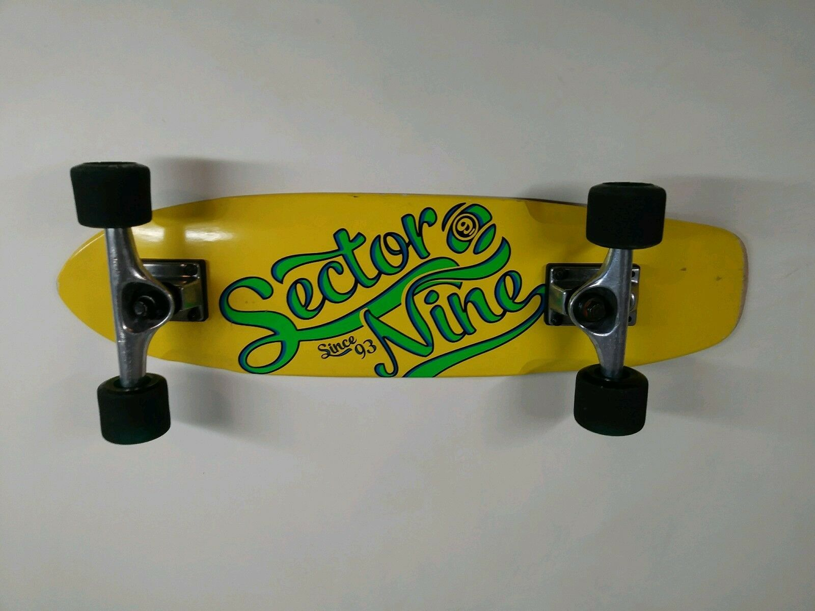 Sector 9 Penny Board style mini Cruiser Complete Sz 25.6 x 6.75in yellow