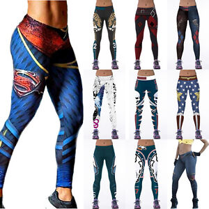 390909eb72cb12 Women's YOGA Workout Gym 3D Print Sports Pants Leggings Fitness ...