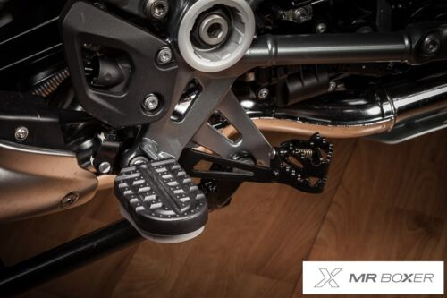 Trittbretter Salvascarpe Einsätze Komfort für Original BMW R1250GS LC Adventure