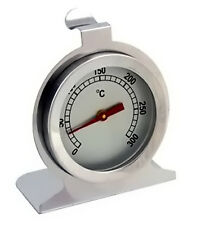 Thermomètre de four cuisson inox analogique à aiguille avec crochet suspendre