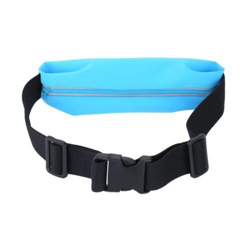 Blue Sport Running Belt Waist Pack With Touch Screen Window Sony Z3 Compact