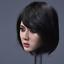 【FREE SHIPPING】1//6 Asian Female SHORT Hair Head Sculpt for SUNTAN PHICEN